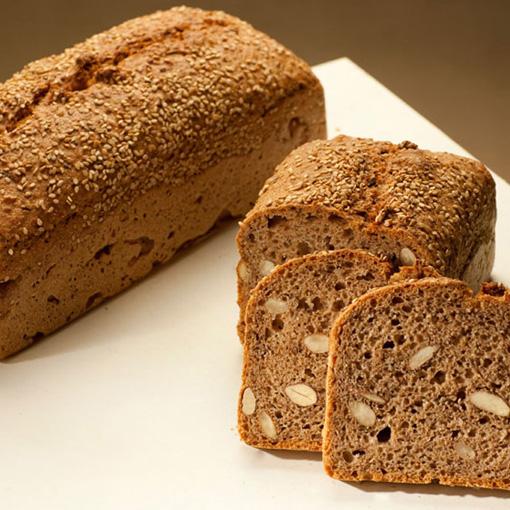 Sesam-Mandel Brot